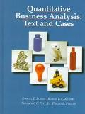 Quantitative Business Analysis:text+cs.