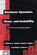 Nonlinear Dynamics, Chaos, and Instability Statistical Theory and Economic Evidence