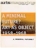 Minimal Future? Art As Object 1958-1968