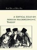 Critical Essay on Modern Macroeconomic Theory