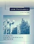 Logic Programming Proceedings of the Fourteenth