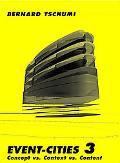 Event-cities 3 Concept Vs. Context Vs. Content