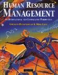 Human Resource Management An International and Comparative Perspective on the Employment Rel...