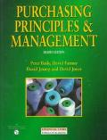 Purchasing Principles & Management