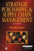 Strategic Purchasing and Supply Chain Management - Malcolm Saunders - Paperback - REV
