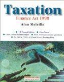 Taxation: Finance Act 1998
