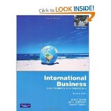 International Business Environments and Operations 13th edition