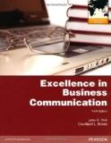 Excellence in Business Communication. John V. Thill, Courtland L. Bove