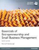Essentials of Entrepreneurship and Smal