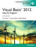 Visual Basic 2012 How to Program 6e