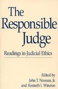 The Responsible Judge: Readings in Judicial Ethics