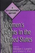 Women's Rights in the United States A Documentary History
