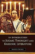 Introduction to Judaic Thought and Rabbinic Literature