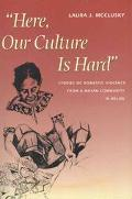 Here, Our Culture Is Hard Narrative Ethnography, Domestic Violence, and the Young Women's Re...