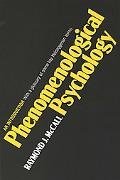 Phenomenological Psychology An Introduction  With a Glossary of Some Key Heideggerian Terms