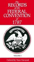 Records of the Federal Convention of 1787