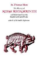 History of King Richard III and Selections from the English and Latin Poems