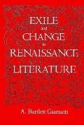 Exile and Change in Renaissance Literature