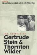 Letters of Gertrude Stein and Thornton Wilder