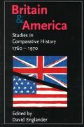 Britain and America Studies in Comparative History, 1760-1970
