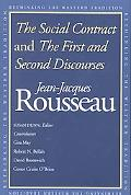 Social Contract and the First and Second Discourses And, the First and Second Discourses