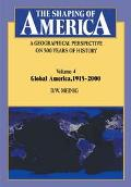 Shaping Of America A Geographical Perspective On 500 Years Of History
