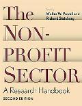 Nonprofit Sector A Research Handbook