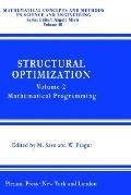 Structural Optimization Mathematical Programming