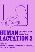 Human Lactation 3 The Effects of Milk on the Recipient Infant