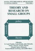Theory and Research on Small Groups - John Edwards - Hardcover