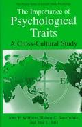 Importance of Psychological Traits A Cross-Cultural Study