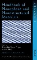 Handbook of Nanophase and Nanostructured Materials Synthesis