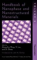 Handbook of Nanophase and Nanostructured Materials Characterization