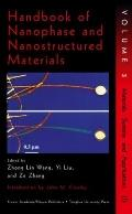 Handbook of Nanophase and Nanostructured Materials Materials Systems and Applications I