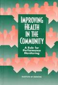 Improving Health in the Community A Role for Performance Monitoring
