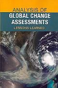 Analysis of Global Change Assessments