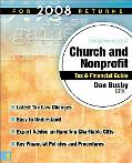 Zondervan 2009 Church and NonProfit Tax Financail Guide: For 2008 Returns