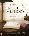 Rick Warrens' Bible Study Methods Twelve Ways You Can Unlock God's Word