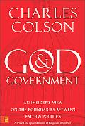 God & Government An Insider's View on the Boundaries Between Faith & Politics