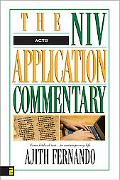 Acts The Niv Application Commentary