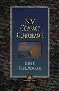 NIV Compact Concordance - John R. Kohlenberger - Hardcover - COMPACT