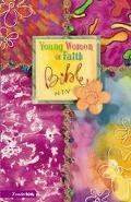 Young Women of Faith Bible (NIV) - Susie Shellenberger - Hardcover - Periwinkle Imitation Le...