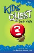 Kids Quest Study Bible New International Readers Version, Real Questions, Real Answers