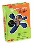 Backpack Bible New International Reader's Version Blue