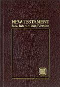 Holy Bible, New International Version Pocket-Thin Testament, Burgundy