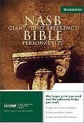 Nasb Bible Reference, Burgandy, Bonded Leather Personal Size
