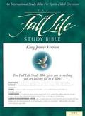 Full Life Study Bible: King James Version (KJV), navy blue bonded leather - Donald C. Stamps...