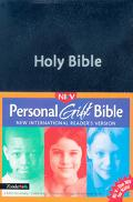 New International Readers Version Personal Gift Bible Blue
