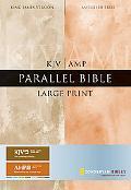 KJV/Amplified Parallel Bible, Large Print