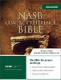 NASB Compact Reference Bible: New American Standard Bible Update, black bonded leather, butt...